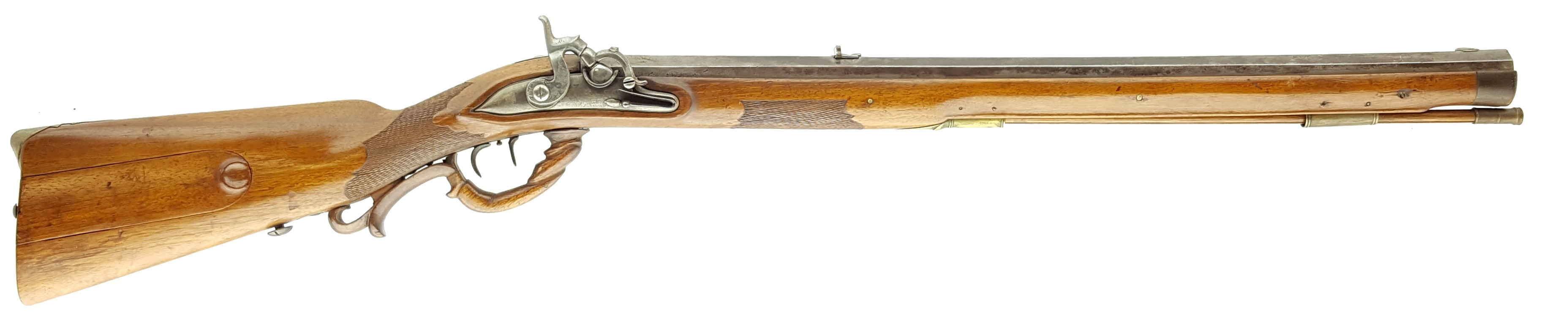 how to clean a flintlock rifle